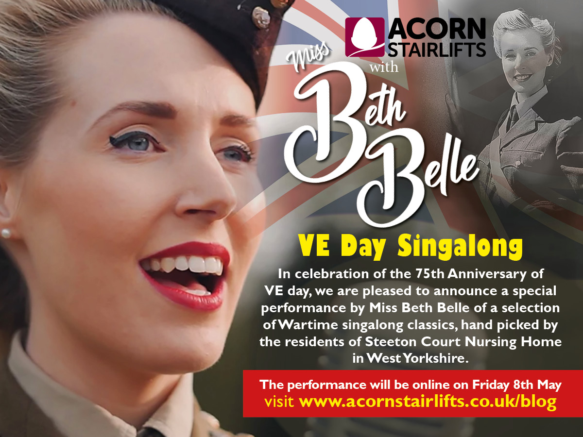 Join Acorn for a very special VE Day 75th Anniversary show!